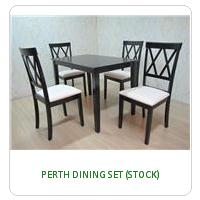 PERTH DINING SET (STOCK)